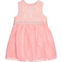 Mini girls pink lace prom dress 24,00 €