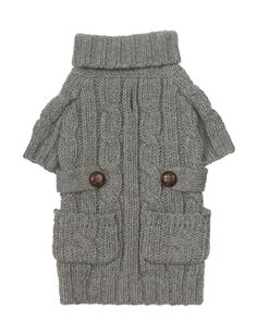 Pocket Cable Knit