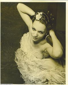 """Margot Webb, a Cotton Club dancer (circa 1934) who gained even more notoriety as a ballroom dancer with her partner Harold Norton. They performed as """"Norton and Margot"""" in the 1930s and 1940s.Brenda Dixon Gottschild(Amel Larrieux's mother) has a wonderful book, Waltzing in the Dark: African American Vaudeville and Race Politics in the Swing Era, with a wealth of information on their career"""