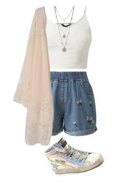 """""""Untitled #192"""" by kenzie-raye13 on Polyvore featuring Golden Goose, Chicwish and Vince Camuto"""