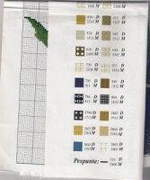 Gallery.ru / Фото #9 - 61 - monfran Cross Stitch Patterns, Bullet Journal, Counted Cross Stitch Patterns, Punch Needle Patterns