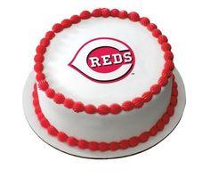 Cincinnati Reds Cake On Pinterest Ohio State Cake