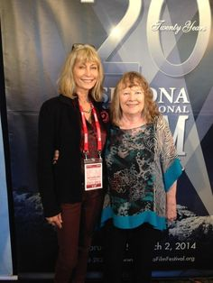 monterey media'a Jere Rae-Mansfield and #RedwoodHighway star Shirley Knight at @SedonaFilmFest pic.twitter.com/0HcgOrqObQ