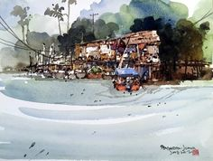 Chan Chang How Watercolor Art, Watercolor Painting, Watercolour
