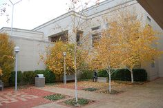 Baxter Court Yard by Greenwich Library, via Flickr