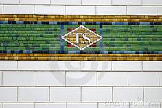 New York Subway Tile - Times Square Station