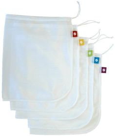 flip and tumble 5-Pack Reusable Produce Bags by Flip and Tumble, http://www.amazon.com/dp/B002UXQ7QQ/ref=cm_sw_r_pi_dp_31LIpb0G7FAV8
