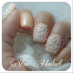 Inspired by @glamsusie #nail #nails #nailart #nailpolish #naildesign #3dnails #nailtips