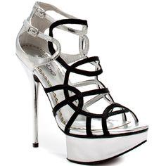 Lourdes - Black Silver  Bebe Shoes