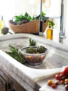 kitchen sink: mix of