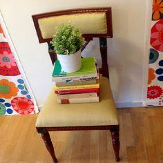 . Planter Pots, Chair, Furniture, Home Decor, Decoration Home, Room Decor, Home Furnishings, Stool, Home Interior Design