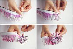 wedding_planner paper_flower DIY step 5