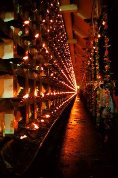 Tripunithura temple ChuttuvillakuExplore LiGht - Fun Ideas and Suggestions Kerala India, South India, Indian Temple Architecture, Kerala Travel, Elephant Photography, Black Background Wallpaper, Amazing India, Hindu Temple, Festival Lights