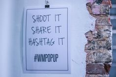 Wishlist Material #WMPOPUP - pic by Michael Meers
