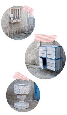Newspaper Furniture by VIJ5.