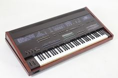 Yamaha DX1: a rare beauty not often sighted. Dual 6-op FM engines.
