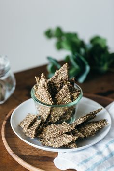 Ultimate seed crackers. Gluten-free, grain-free, nut-free, paleo and vegan.