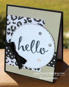 Hello Stamp Set from Stampin Up – Sale-a-Bration