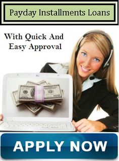 Payday installments loans are beneficial financial assistance for the applicants to deal with all unwanted monetary hurdles on time without facing any troubles. Read more...
