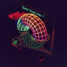 DonutThrustArray Graphic Design Posters, Graphic Design Inspiration, 70s Sci Fi Art, Futuristic Art, Old Computers, Cyberpunk Art, Retro Aesthetic, Retro Futurism, Motion Design