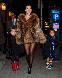 Why Kim's fake fur is worse for the environment that Kourtney's real one