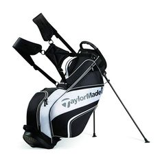 With 5 dividers and 6 pockets, this lightweight stand bag from TaylorMade provides one of the best walking experiences on the golf course. People who love and trust the TaylorMade brand will love adding their golf clubs to this golf bag. Golf Mk2, Golf Stand Bags, Golf Bags, Caddy Bag, Cleveland Golf, Hip Pads, Converse, Callaway Golf, Golf Accessories