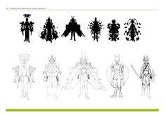 Creación de personajes con manchas