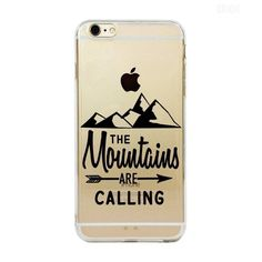 The mountains are calling iPhone 6 case 13c91ccf382