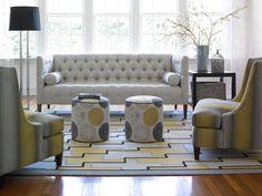 Wesley Hall living room