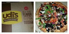 Gluten-Free pizza from Pizza Hut... Yummy!
