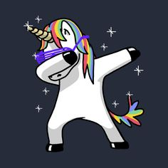 Check out this awesome 'Dabbing+Unicorn' design on @TeePublic!