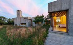 East House. Chilmak, Massachusetts by Peter Rose + Partners
