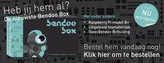 Met de bendobox zet je zelf een computer in elkaar en kun je hem programmeren. Vanaf 10 jaar.  www.bendobox.nl.