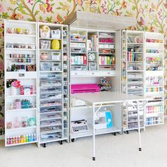 DreamBox от The Original ScrapBox / Paige Taylor Evans Craft Desk, Craft Room Storage, Craft Box, Craft Organization, Paper Storage, Organizing Tips, Small Craft Rooms, Craft Room Design, Sewing Rooms