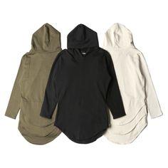 "@HommeFemmeLA ""Triple Layer Long-Sleeve Hoodie"" | Available now in-store + online | #HommeFemmeLA"