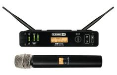 Line 6 XD-V75HH Digital Wireless Handheld Microphone System: Audition your voice through DSP models of 10 popular wired microphones, with this wireless handheld mic system from the digital-modeling experts at Line 6.