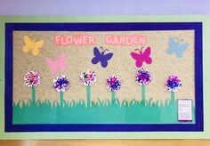 Flower Garden. Growing Gardens. Infant classroom. Art projects. Infant Toddler Classroom, Toddler Themes, Garden Crafts, Garden Projects, Garden Art, Classroom Art Projects, Art Classroom, Infant Activities, Craft Activities