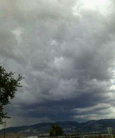 I love a good thunderstorm.-Lucerne Valley CA
