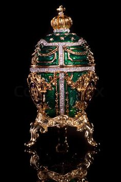 Faberge egg=I love these with their intricate work.