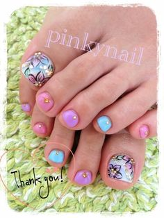 Image via Cute Red Toe Nail Art Designs, Ideas, Trends & Stickers 2015 Image via How to get rid of foot nail fungus (fast)? Toe Nail Fungi: You must realise that this nail is dead Toenail Art Designs, Pedicure Designs, White Nail Designs, Manicure Y Pedicure, Toe Designs, Cute Pedicures, Nails Only, Feet Nails, Trendy Nail Art