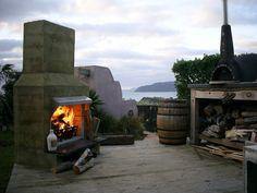 Aztec Outdoor Fireplace Gallery