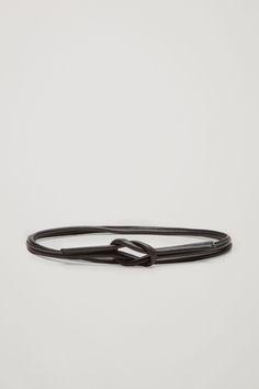 COS | Tie-up leather belt