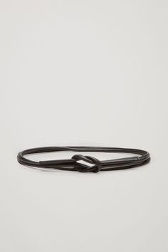 COS | Tie-up leather belt