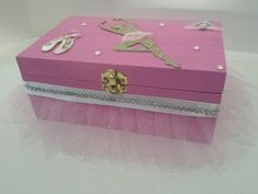 Tutu Jewelry Box,Trinket, Keepsake, also Princess Crown Keepsake, Trinket, Keepsake  Box by Pearl Bella Gifts $35 choose your color!