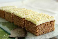 Kermaruusu: Suosituin porkkanapiirakka Sweet Recipes, Cake Recipes, Finnish Recipes, Sweet Bakery, Cake Bars, Sweet Pie, Biscuit Cookies, Breakfast Dessert, No Bake Cake