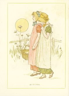 Almanack for 1886 - Page 16 - Kate Greenaway