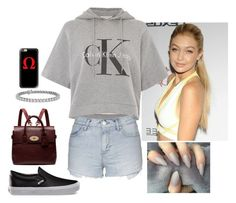 """Untitled #84"" by fatyhnrqz94 ❤ liked on Polyvore featuring Vans, Mulberry, Casetify, Calvin Klein, Topshop and Blue Nile"