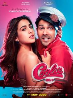 Varun Dhawan and Sara Ali Khan A Film Govinda and Karisma Kapoor.After sharing the teaser the makers of Coolie shared the first look of the film starring Varun Dhawan and Sara Ali Khan. Bollywood Actors, Bollywood News, Bollywood Celebrities, Bollywood Posters, Bollywood Updates, Bollywood Songs, Bollywood Fashion, Latest Movies, New Movies