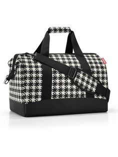 reisenthel® allrounder L fifties black: Travel with the traveling bag.