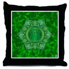 Heart Chakra pillow